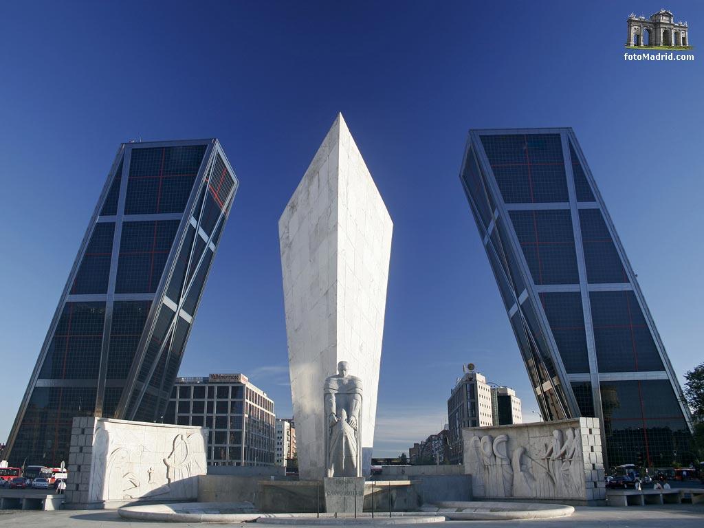 Plaza de castilla y torres kio - Torres kio arquitecto ...