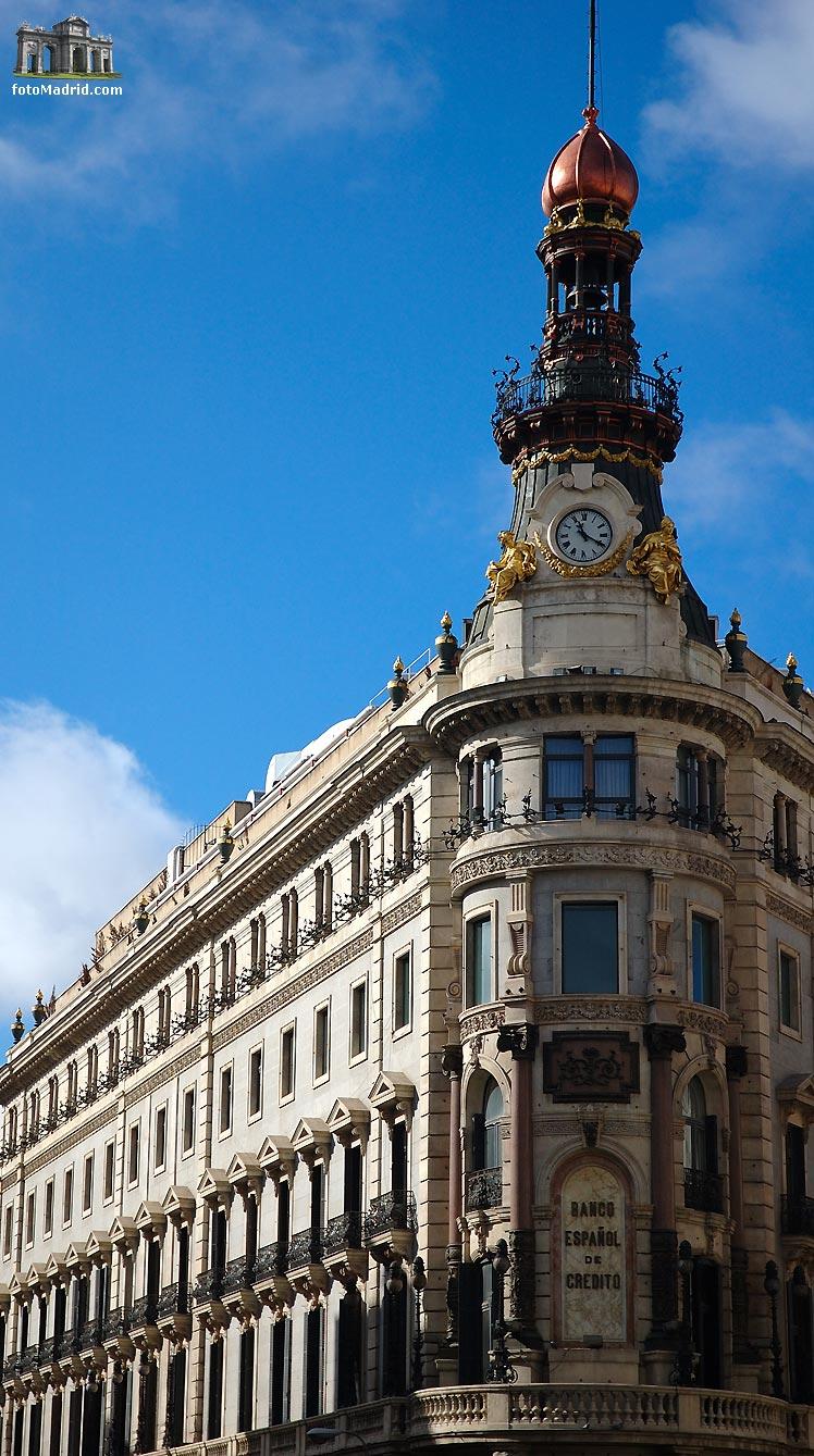 Sucursales del banco espa ol de credito en madrid for Sucursales banco espana