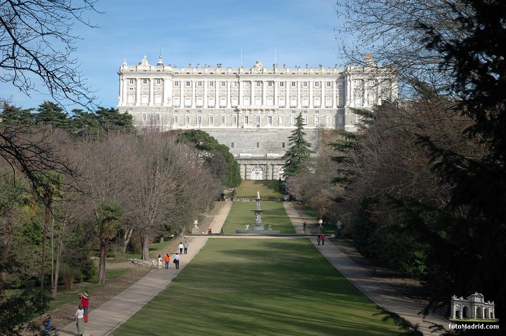 Jardines del campo del moro la web de droblo - Jardines palacio real madrid ...