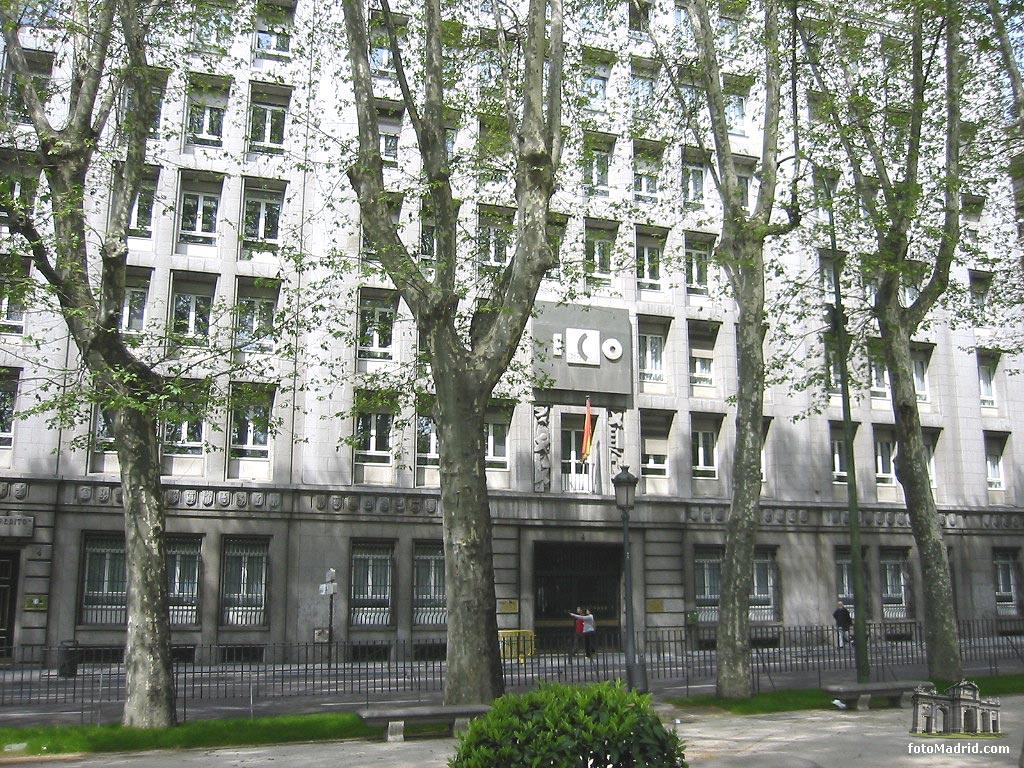 edificio del ico