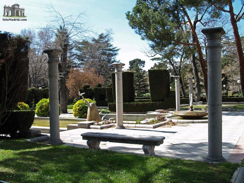 Jardines de la casa de fieras y fuente de la gaviota for Casa de jardin varca goa
